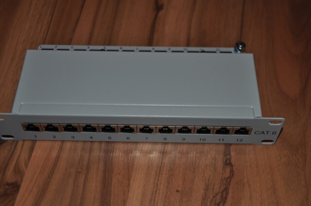10 Zoll Patchpanel