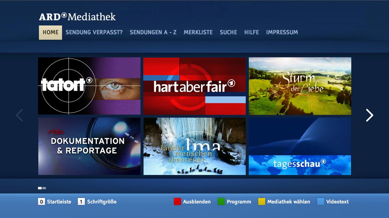 ARD Mediathek wurde aktualisiert – Was hat sich verbessert?  MY
