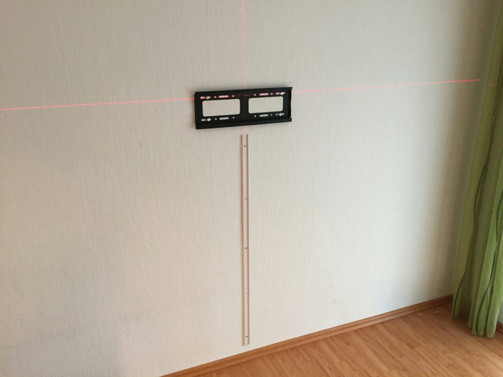 Ausmessen mit Laser