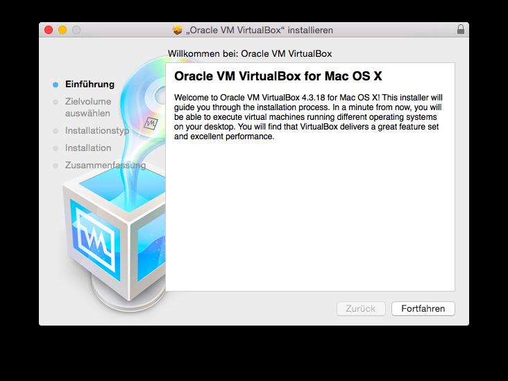 VirtualBox installieren