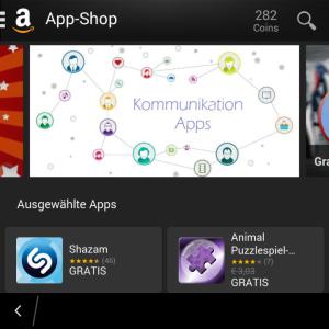 Amazon App-Shop - Blackberry