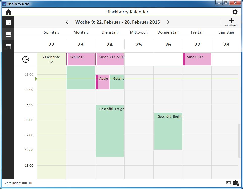 Blackberry Blend Kalender