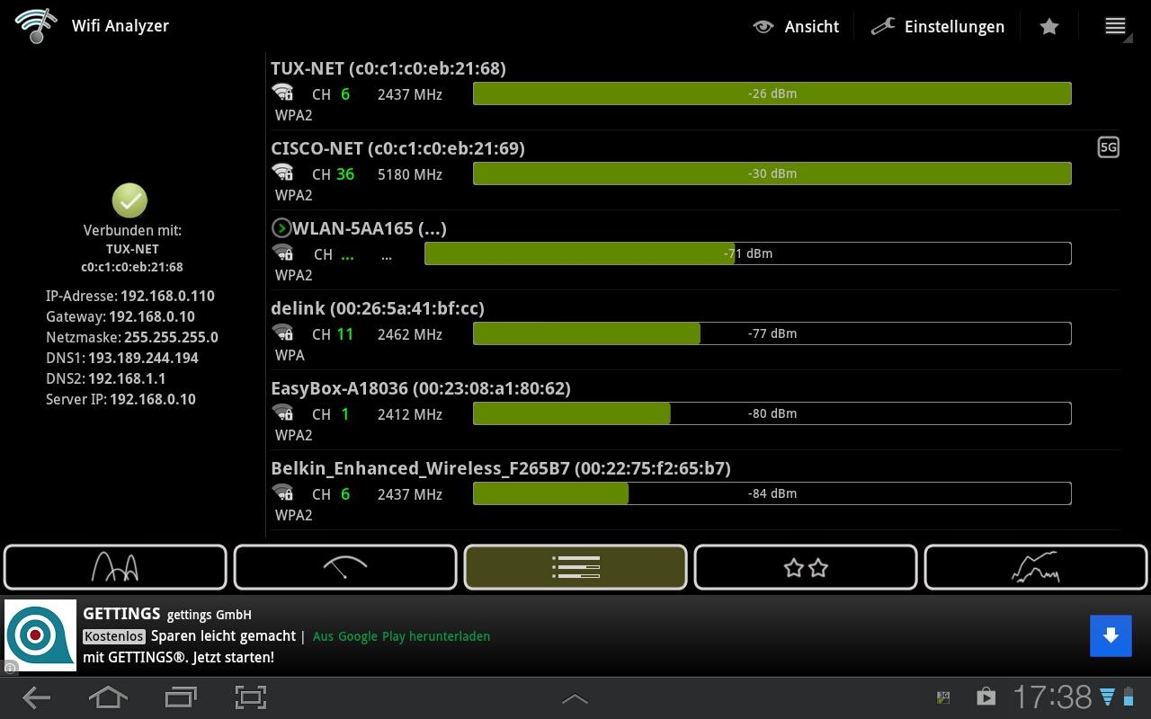 Wlan Empfang Verbessern Android : wifi scanner tool um wlan empfang zu verbessern my digital home ~ Watch28wear.com Haus und Dekorationen