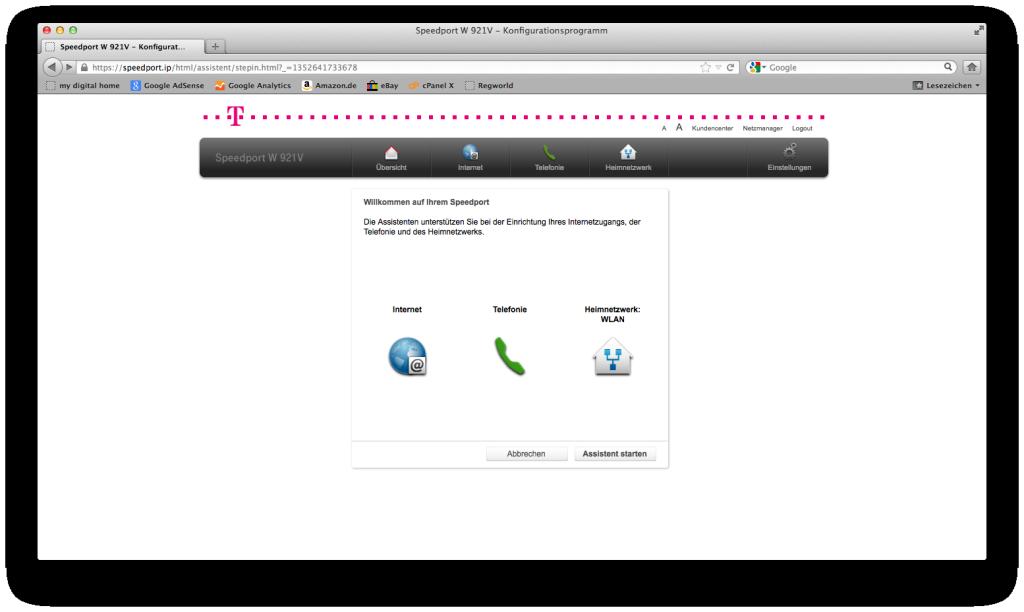 Wlan Einrichten Telekom Speedport W921v Telekom Router Richtig