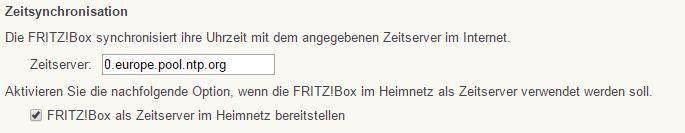 FritzBox - Heimnetzwerk - Netzwerk - Netzwerkeinstellungen