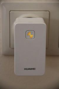 HUAWEI WLAN Repeater Status gelb