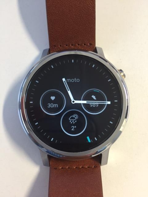 Watch Face Moto 360 - Temperatur in Celsius