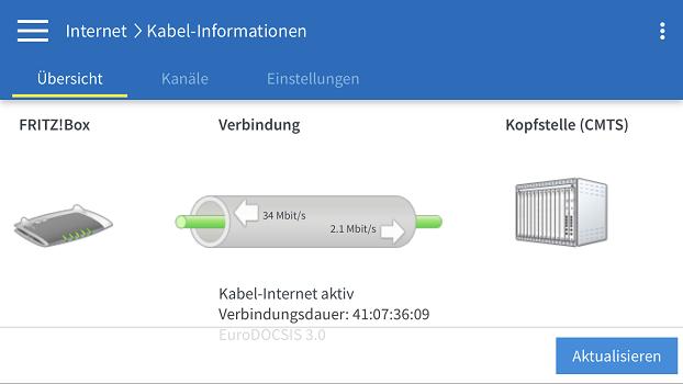 Internet-Störung