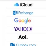 iOS - Einstellungen - Accounts und Passwörter - Account hinzufügen