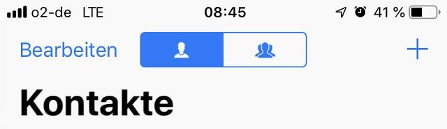 Kontakte hinzufügen Icon