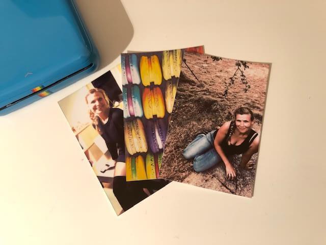 Polariod Zip - ausgedruckte Fotos