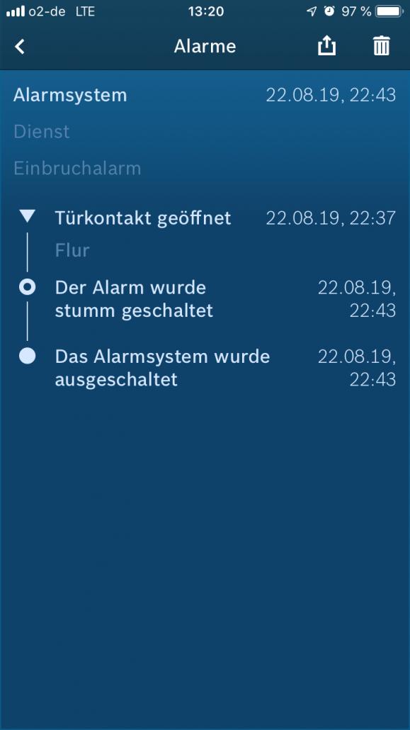 Bosch Smart Home Alarme