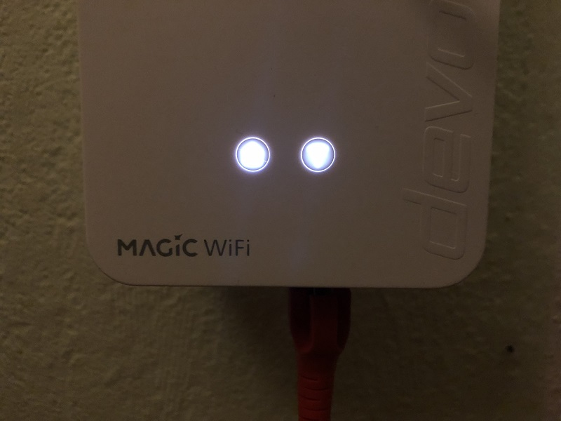 Devolo Magic 2 Powerline-Adapter verbunden