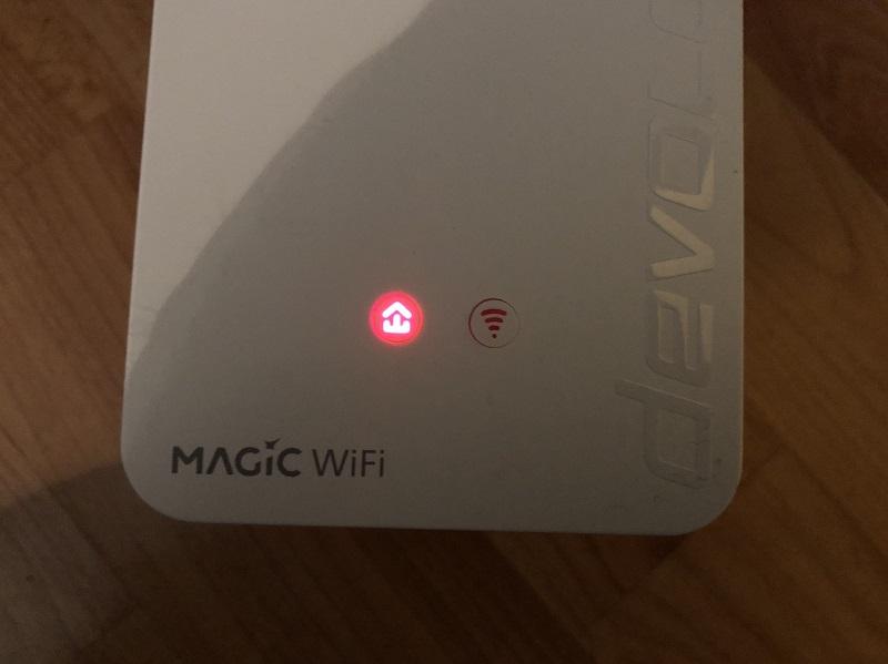 Magic WiFi Adapter nicht verbunden