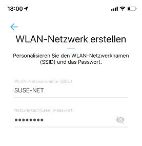 WLAN Netzwerk erstellen
