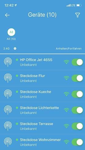 2,4G WLAN-Geräte