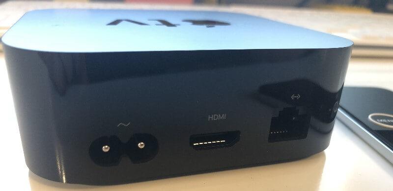 Apple TV 4K - Anschlüsse