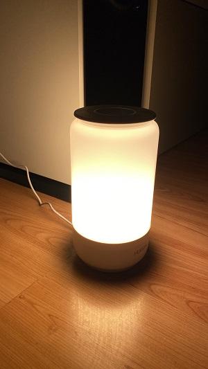Smart Lampe - warmes Licht