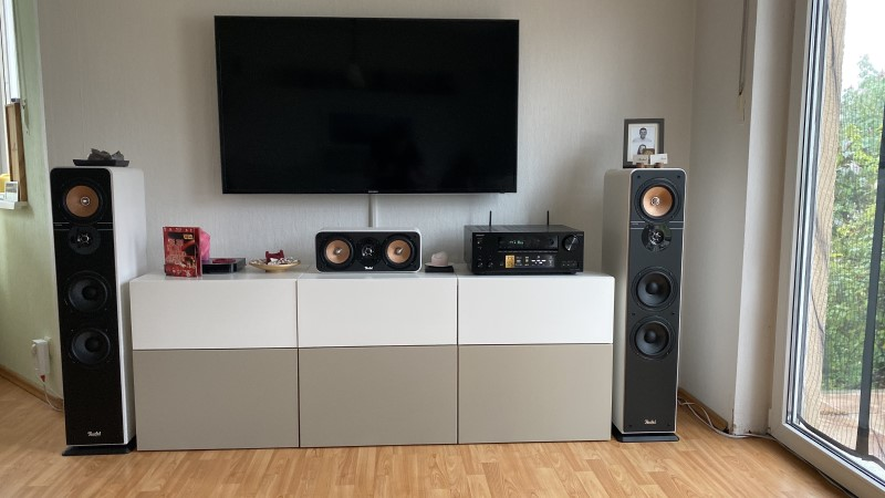 Teufel Ultima 40 Standlautsprecher + Center