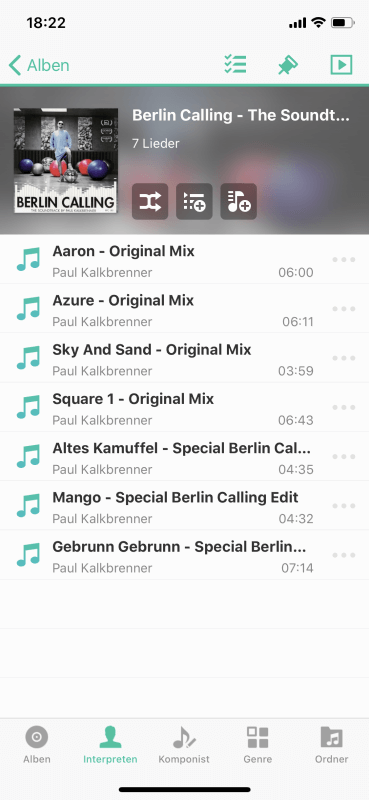 DS Audio - Alben