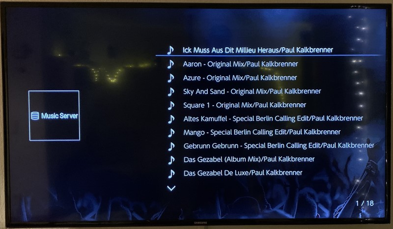 Onkyo - Music Server - MP3