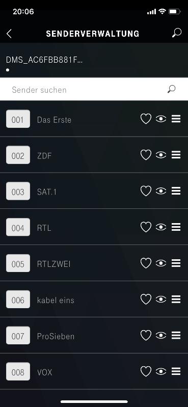 Telekom Receiver App
