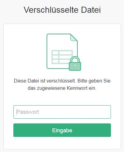 Dokument - Teilen - Verschlüsselte Datei
