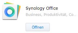 Syology Office - Paket-Zentrum