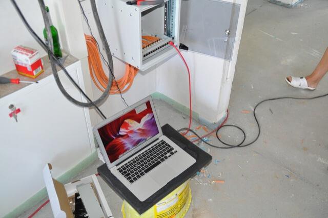 Netzwerktest mit MAC