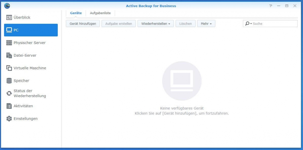 Active Backup for Business - PC