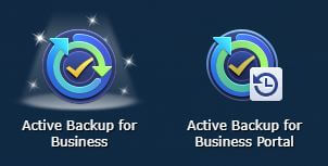 Active Backup for Business öffnen