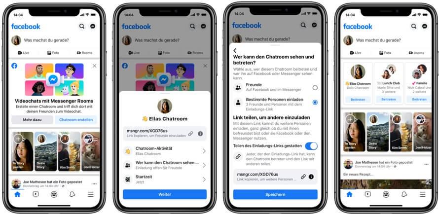 Hat mitglieder weltweit viele wie facebook Messenger Apps