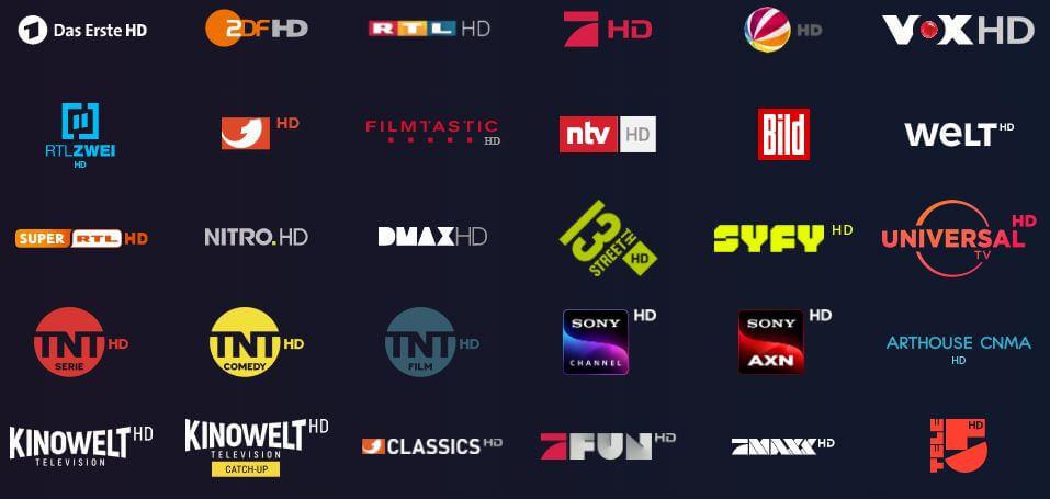 waipu.tv HD Sender
